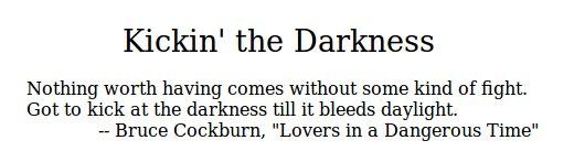 Kickin' the Darkness